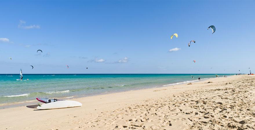 Kitesurfen auf Fuerteventura