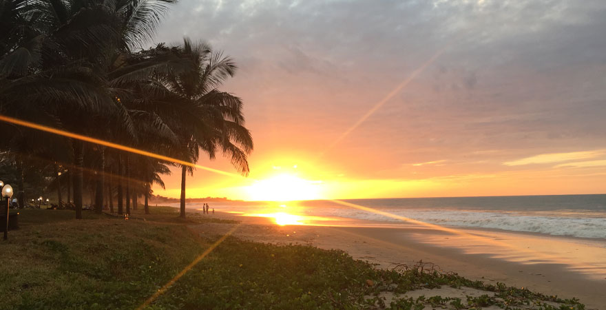Sonnenuntergang Gambia