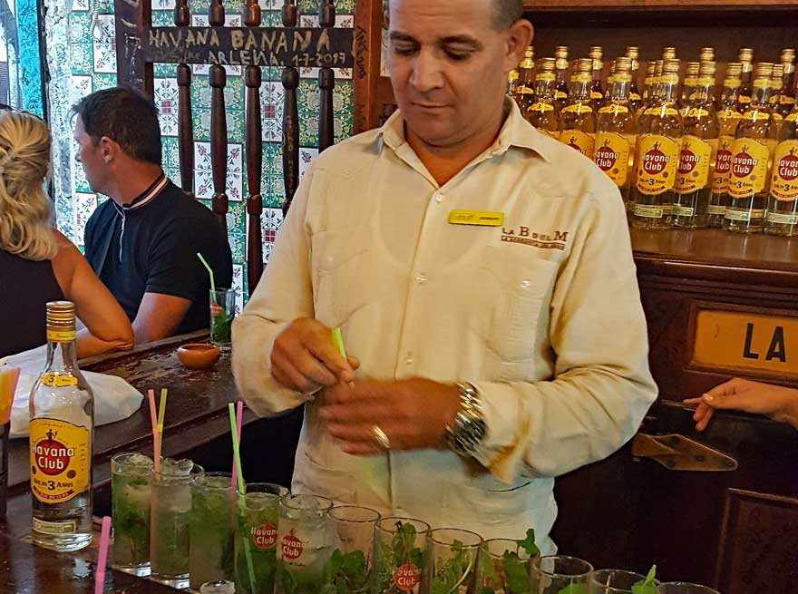 Mojitos in der Bodeguita del Medio