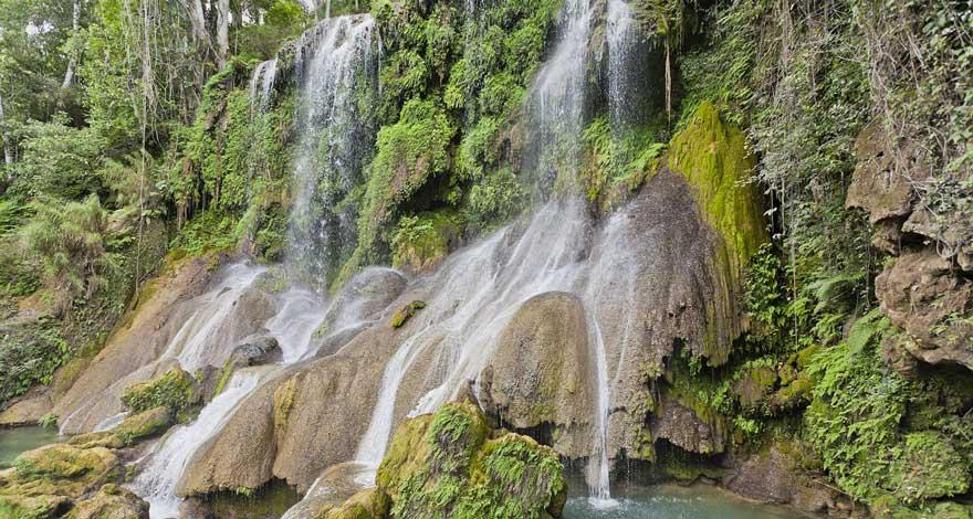 El Nicho Wasserfall auf Kuba