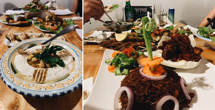 Essen in Gambia
