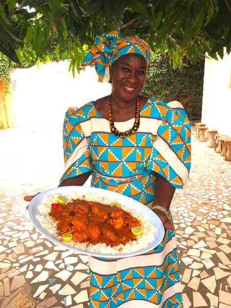 Kochkurs mit Ida in Gambia