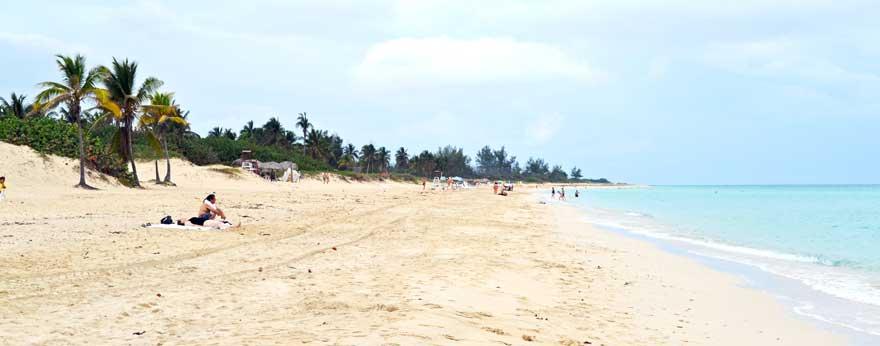 Playas del Este auf Kuba