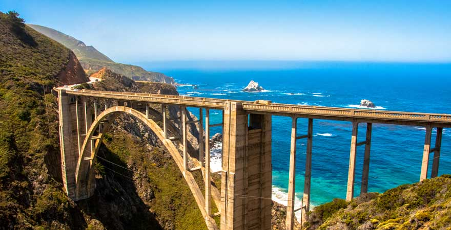 Bixby Bridge Kalifornien