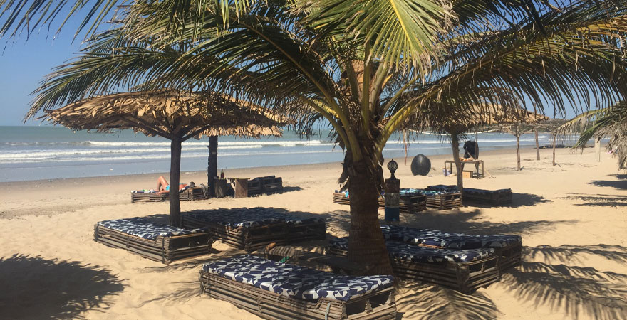 Paradise Beach in Gambia