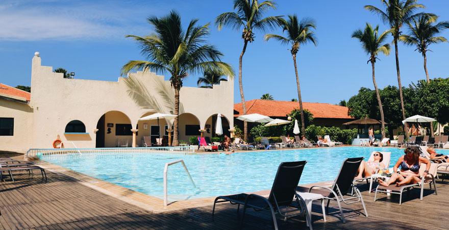Poolbereich Ocean Bay