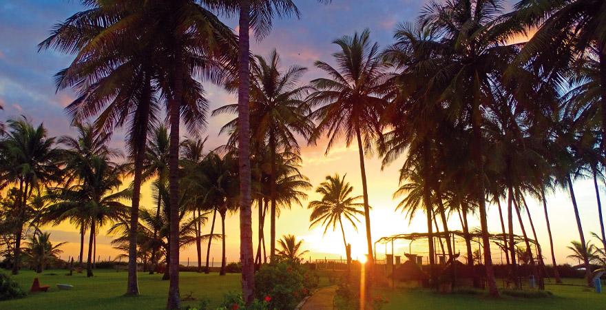 Sonnenuntergang kairaba Beach Hotel