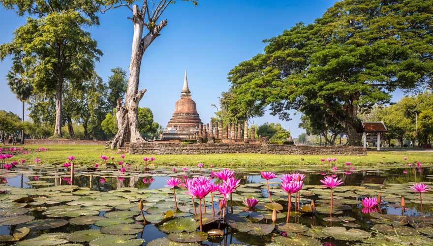 Parkanlage Sukhothai