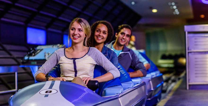 Space Mountain im Walt Disney World Resort in Florida