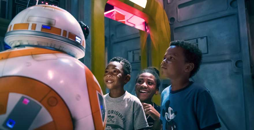 BB-8 Meet and Greet im Walt Disney World Resort in Florida