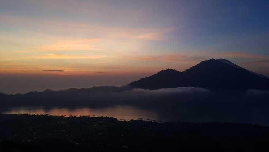 Ausblick vom Gunung Batur