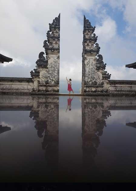 Pura Luhur Lempuyang auf Bali