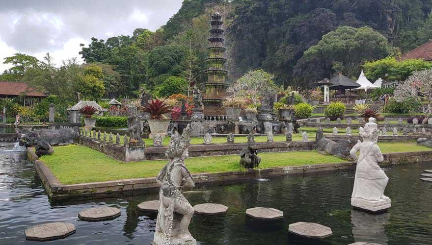 Tirtagangga Wasserpalast
