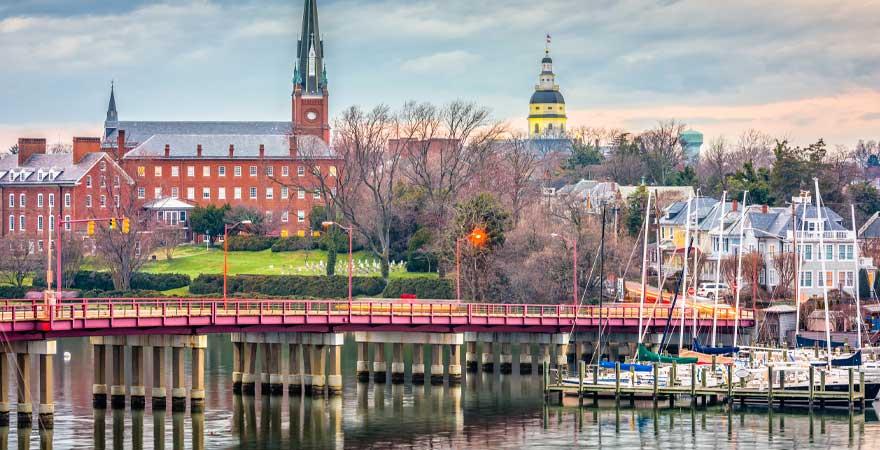 Hafen in Annapolis