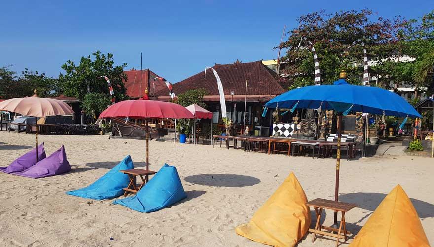 Beachbar in Bali