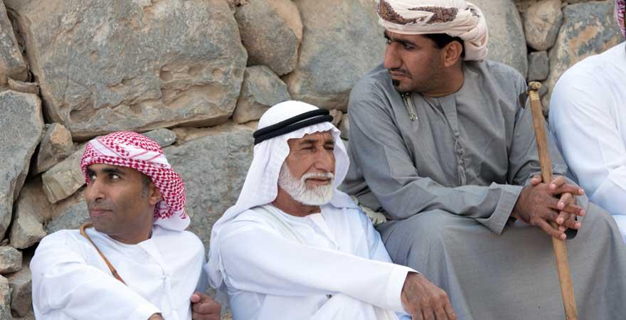 Beduinen in Ras Al Khaimah