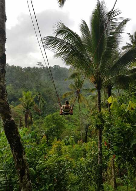 Schaukel in Bali