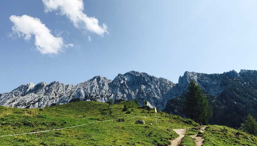 Bergpanorama in Kufstein