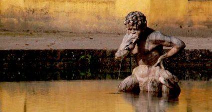 Brunnen in Salzburg Hellbrunn