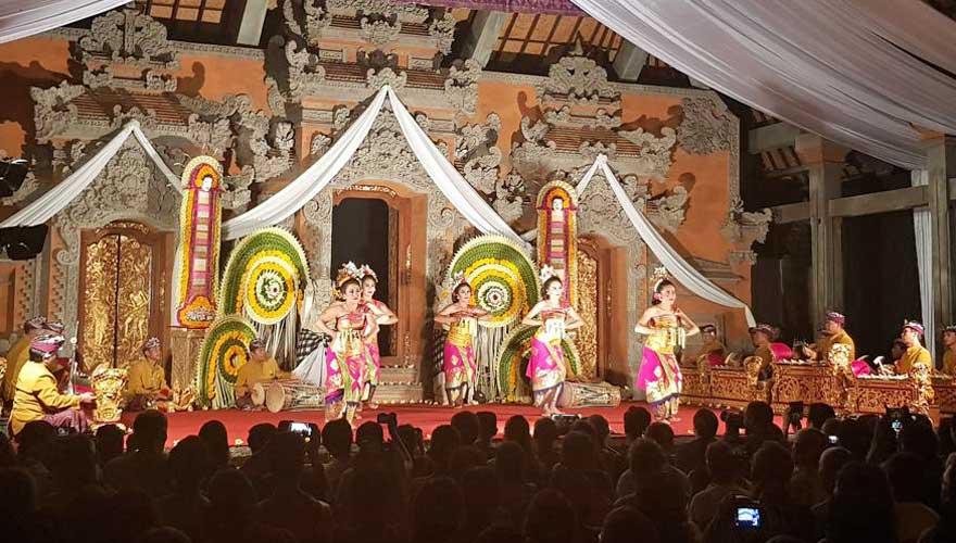 Tanzvorführung Bali