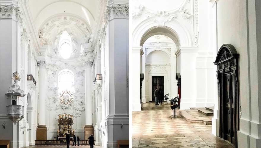 Universitaetskirche in Salzburg