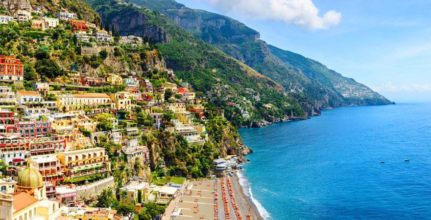 Amalfie Küste in Italien