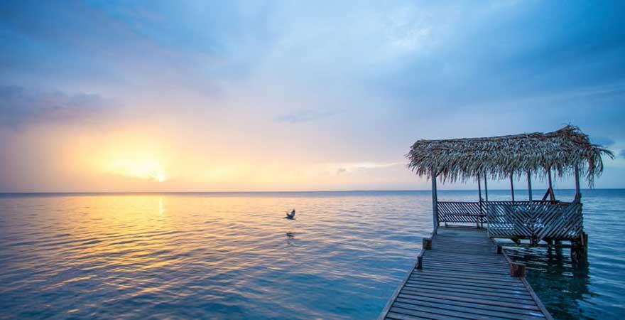 Sonnenaufgang Belize