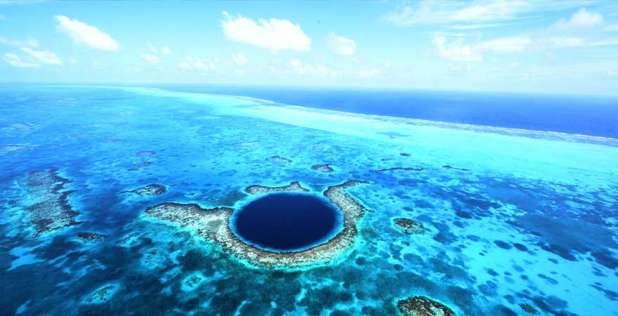 Copyright, blue hole belize