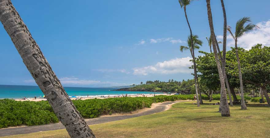Hapuna Beach State Parks auf der Big Island Hawaii