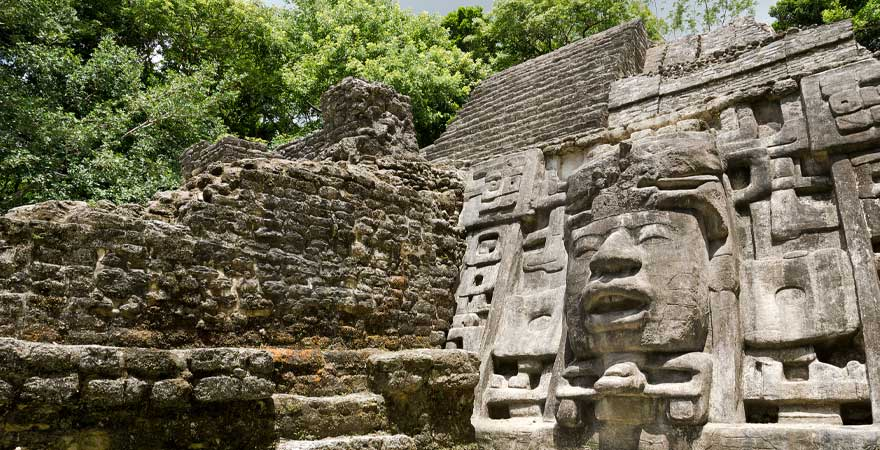tempel in belize
