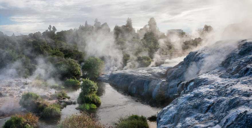 Schwefelbad Rotorua