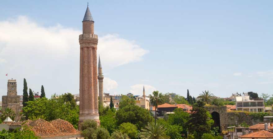 Yivli-Minare-Moscheem ulu mosque