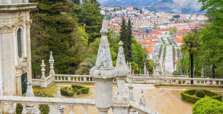 Wallfahrtskirche Lamego in Porto