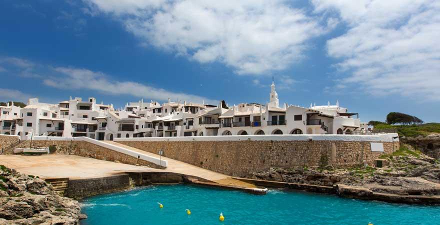 Binibeca Vell auf Menorca