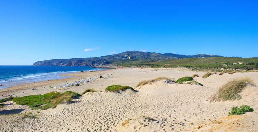 Praia do Guincho strand in lissabon