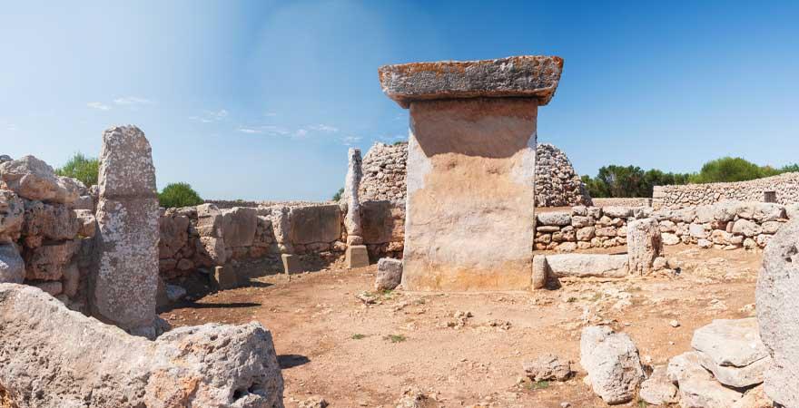 megalithischen Monumente auf Menorca
