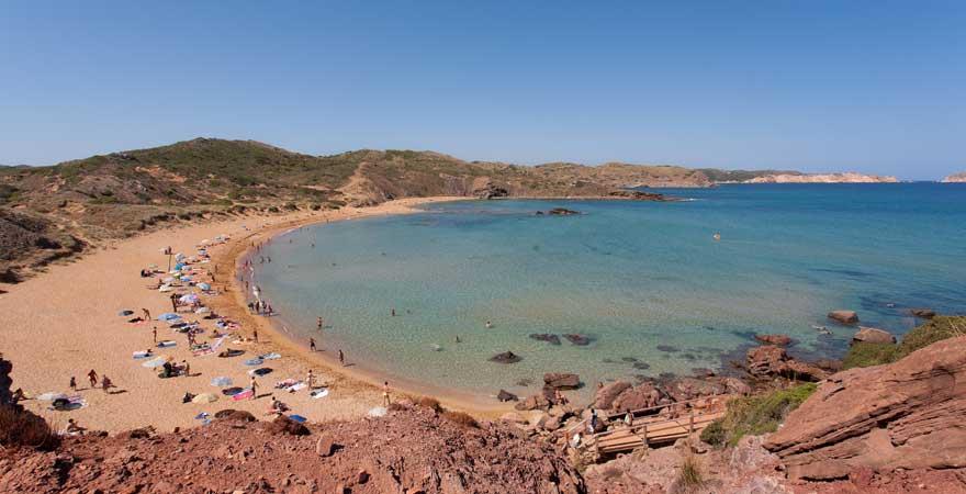 Playa de Cavalleria auf menorca