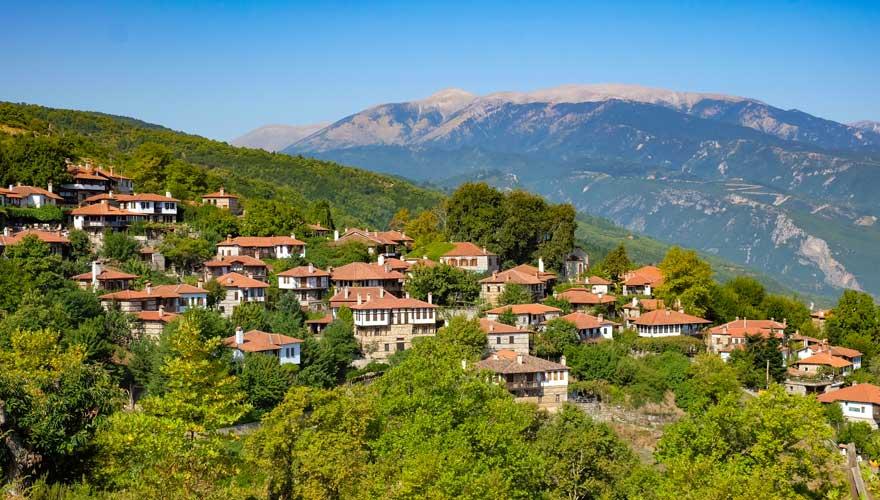 Dorf bei Leptokaria