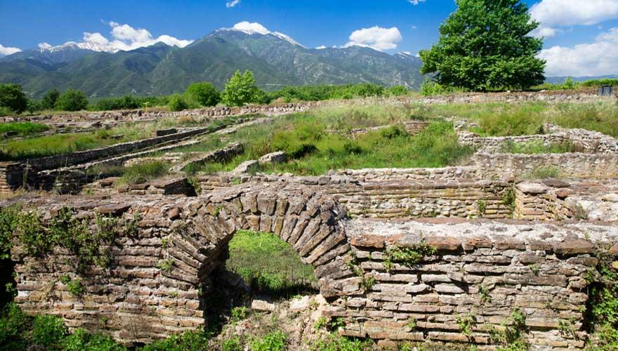 Ausgrabungsstätte Dion an der Olympischen Riviera