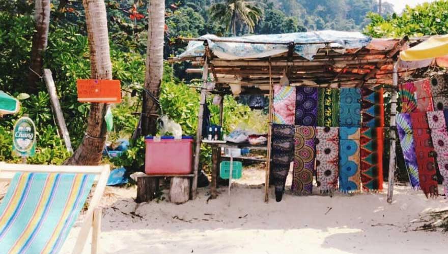lonely beach thailand