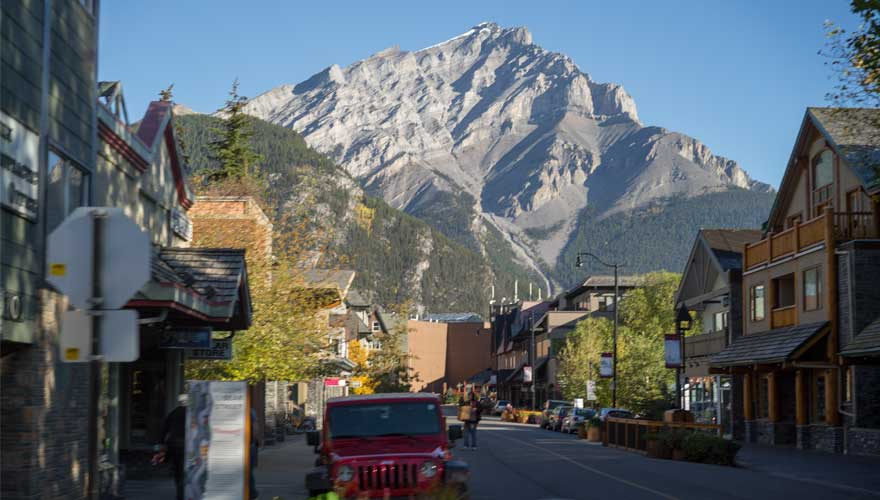 Banff in Kanada