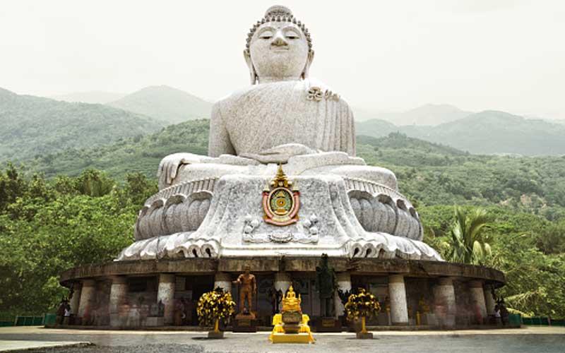 Big Buddha auf dem Nakkerd Hill