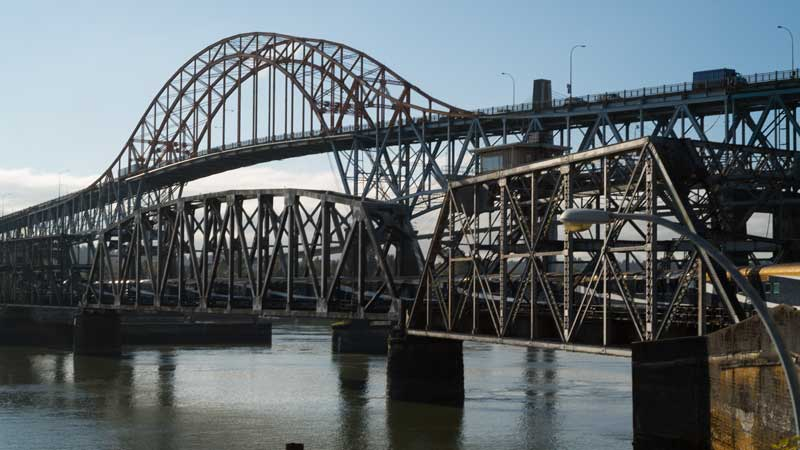 Fraser River Swing Bridge