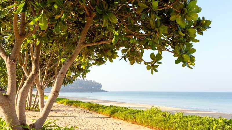 Natai beach auf Phuket
