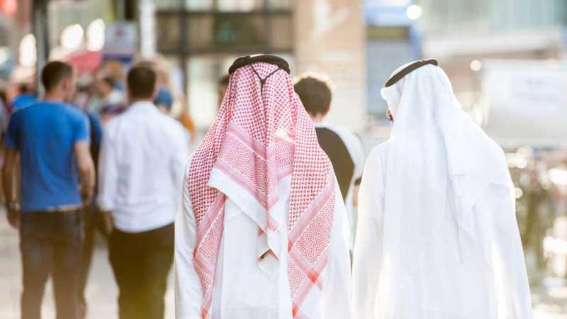 traditionelles Gewand in Dubai