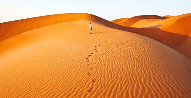 wueste in den vereinigten arabischen emirate