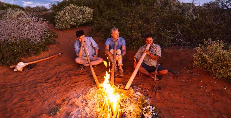 Ausflug mit Ureinwohnern in Australien