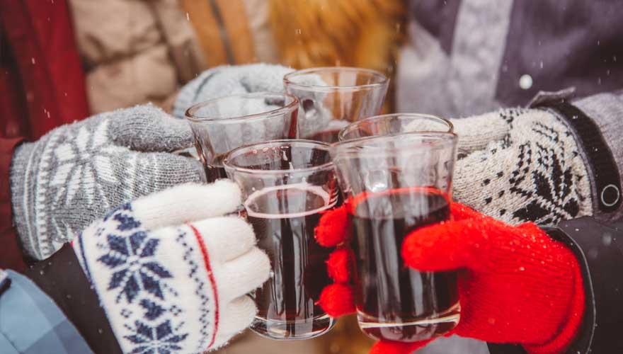 Glühwein weihnachtsmarkt