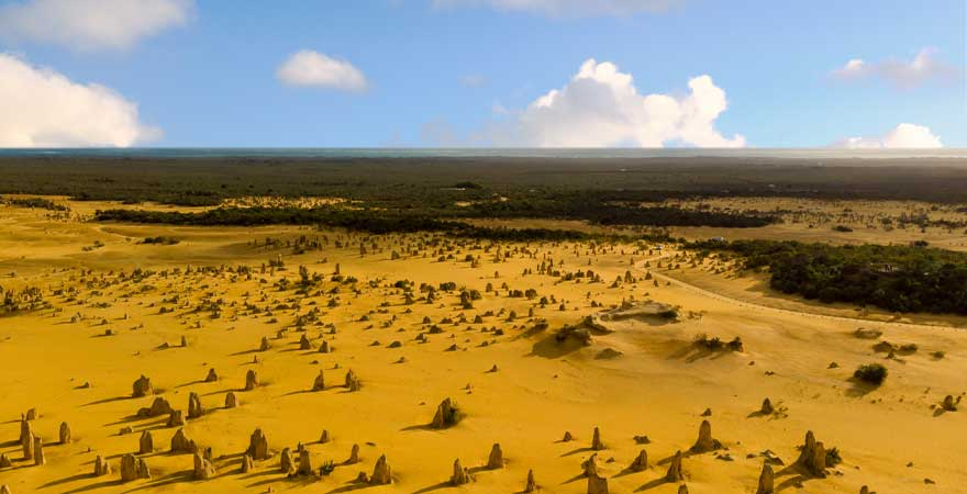 hohe Pinnacles im Nambung Nationalpark