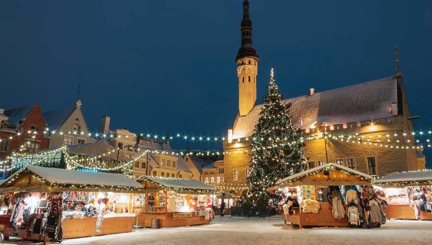 weihnachtsmarkt in Tallin